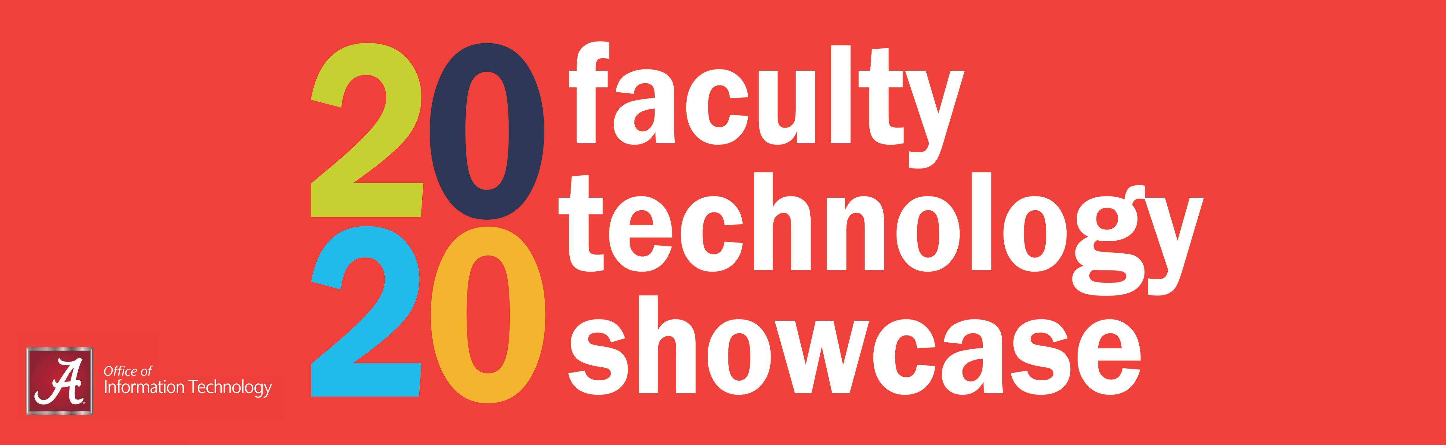 2020 Faculty Technology Showcase Banner with Office of Information Technology wordmark